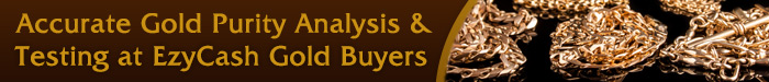 Accurate Gold Purity Analysis and Testing at EzyCash Gold Buyers